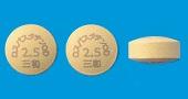 ロスバスタチンOD錠2.5mg「三和」