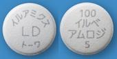 イルアミクス配合錠LD「トーワ」