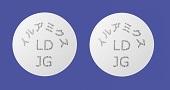 イルアミクス配合錠LD「JG」