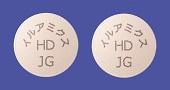 イルアミクス配合錠HD「JG」