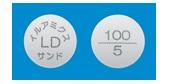 イルアミクス配合錠LD「サンド」